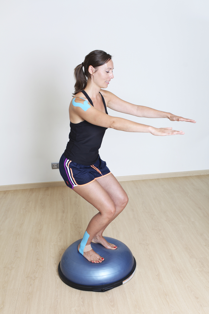 Proprioception - part of a comprehensive physiotherapy rehabilitation plan